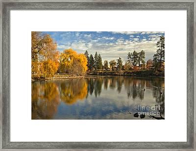 Bend Oregon Metro Park Framed Print by Adam Jewell