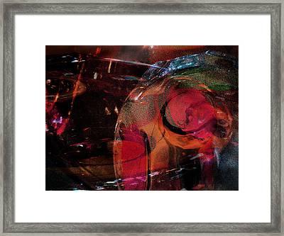 Bending Layered Color Framed Print