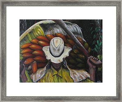 Bendito El Pobre Framed Print by Toyo Perez
