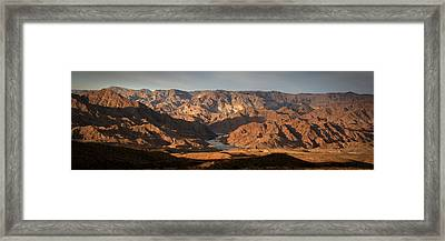 Bends Of The Colorado Framed Print