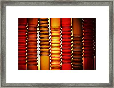 Framed Print featuring the photograph Bendy Straws by John King