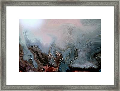 Beneath The Beautiful Deep Sea Framed Print by Sherri's Of Palm Springs