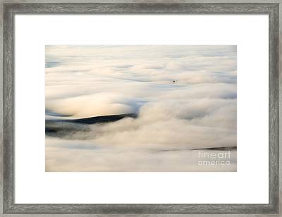 Beneath The Blanket Framed Print by Mike  Dawson