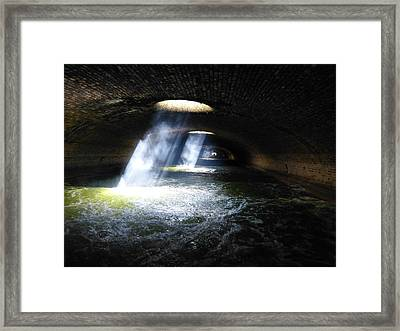 Beneath The Streets Of Paris Framed Print by David Kovac