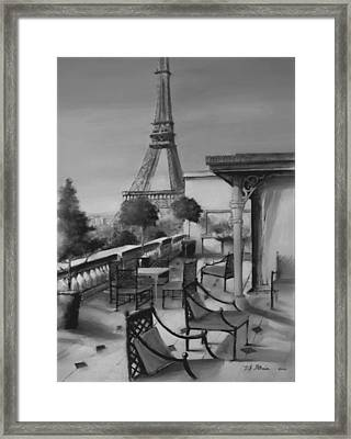 Beneath The Tower  Number 5 Framed Print by Diane Strain