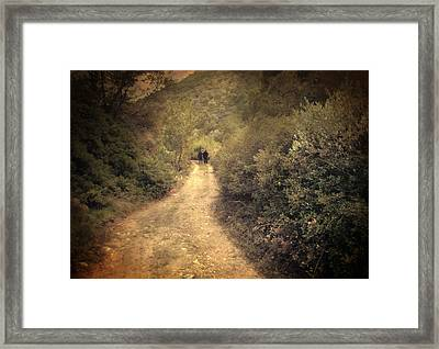 Beneath The Woods Framed Print by Taylan Apukovska