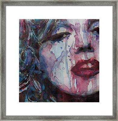 Beneath Your Beautiful Framed Print by Paul Lovering