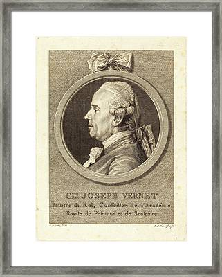 Benedict Alphonse Nicolet After Charles-nicolas Cochin II Framed Print by Litz Collection