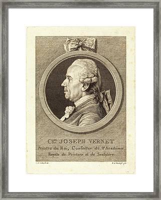 Benedict Alphonse Nicolet After Charles-nicolas Cochin II Framed Print