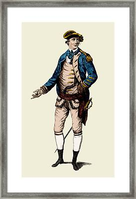 Benedict Arnold, American General Framed Print by Science Source