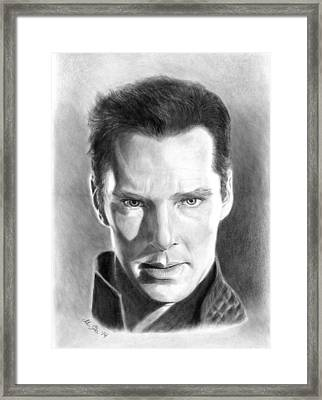 Khan Framed Print by Mariana Po