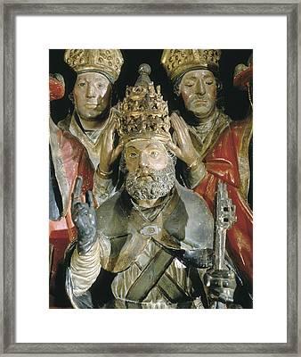 Benedict Xiii. Antipope, Born Pedro De Framed Print by Everett