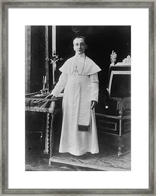 Benedict Xv (1854-1922) Framed Print by Granger
