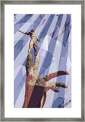 Benediction Framed Print by Matt Lindley