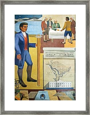 Benjamin Banneker, Us Geographer Framed Print by The George F. Landegger Collection Of District Of Columbia Photographs In Carol M. Highsmith's America