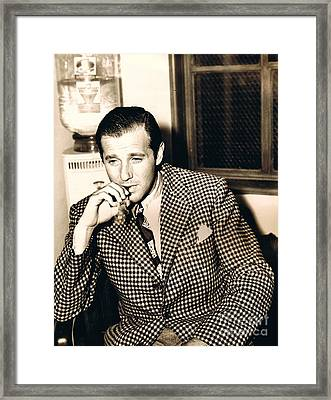 Benjamin  Bugsy Siegal Framed Print by Pg Reproductions