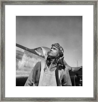 Benjamin Davis Tuskegee Airmen Framed Print