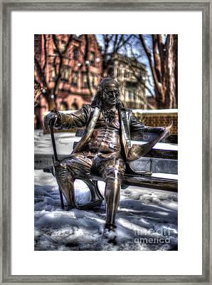 Benjamin Franklin - Upenn Framed Print by Mark Ayzenberg