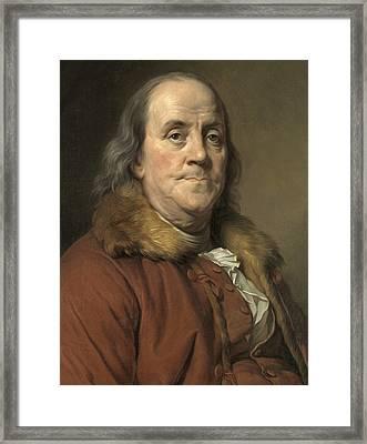 Benjamin Franklin, American Statesman Framed Print by Metropolitan Museum of Art