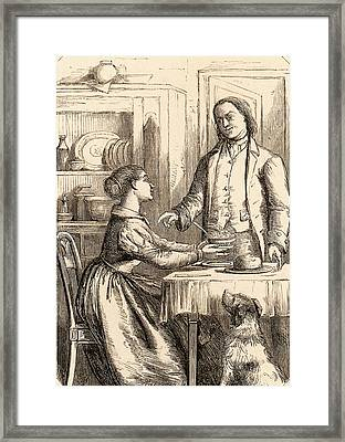 Benjamin Franklin Framed Print by Universal History Archive/uig