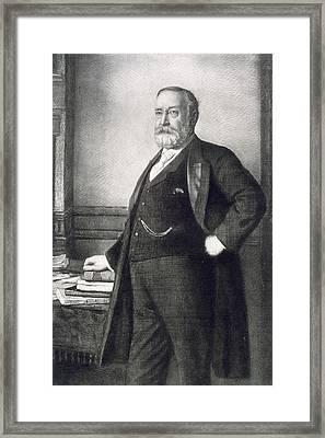 Benjamin Harrison  Framed Print by American School