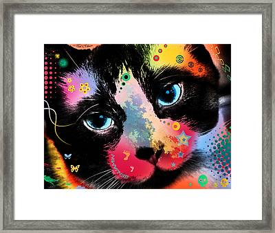 Benjamin Framed Print by Mark Ashkenazi