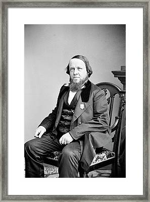 Benjamin Silliman Framed Print by Library Of Congress