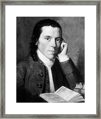 Benjamin Waterhouse Framed Print by National Library Of Medicine