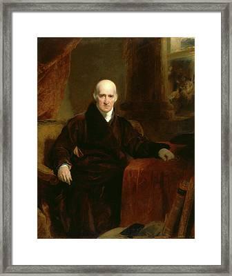 Benjamin West, P.r.a Framed Print
