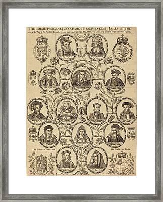 Benjamin Wright English Framed Print by Quint Lox