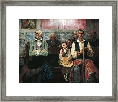 Benlliure Ortiz, Jos� 1884-1916. Mass Framed Print by Everett