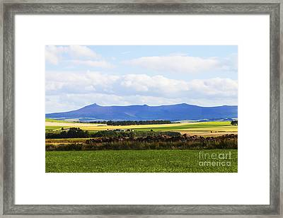 Bennachie Framed Print