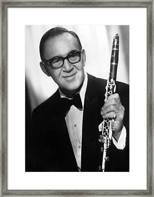 Benny Goodman (1909-1986) Framed Print by Granger