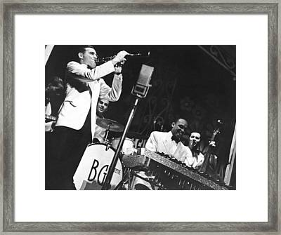Benny Goodman Quartet Framed Print