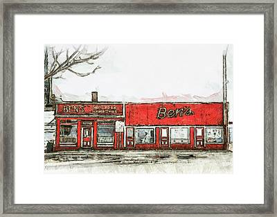 Ben's Framed Print by Jason Bennett