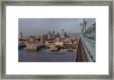 Bens Way In Framed Print
