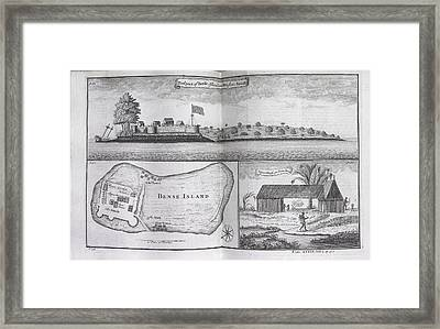 Bense Island Framed Print by British Library