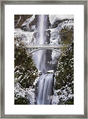 Benson Bridge Framed Print by Brian Bonham