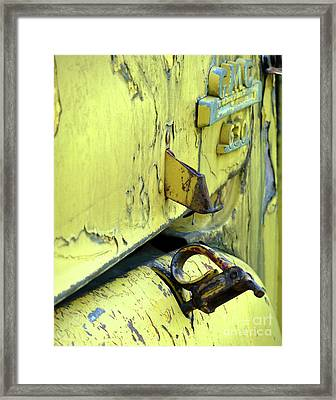 Framed Print featuring the photograph Bent by Newel Hunter