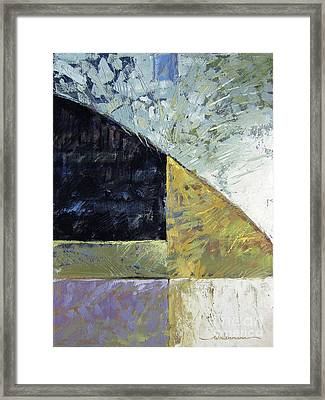 Bent On Abstraction Framed Print