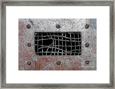 Bent Vent Framed Print by Dan Holm