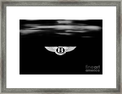 Bentley Continental Gt  Framed Print