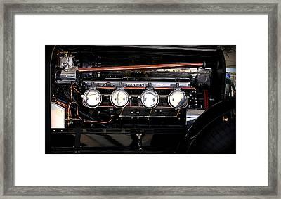 Bentley Engine Framed Print by Radoslav Nedelchev