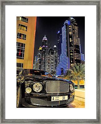 Bentley Mulsanne Framed Print by Graham Taylor