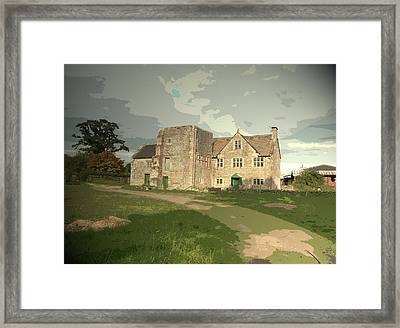 Bentley Old Hall In Fenny Bentley, Now Named Cherry Orchard Framed Print