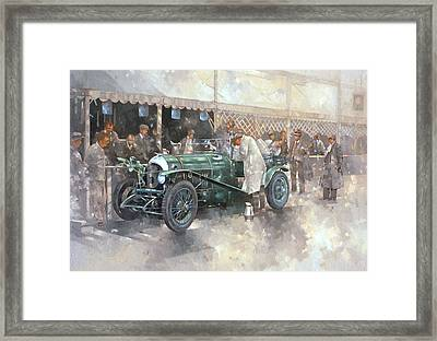 Bentley Old Number 7 Framed Print by Peter Miller