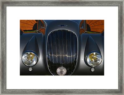 Bentley Roadster Framed Print by Bill Dutting