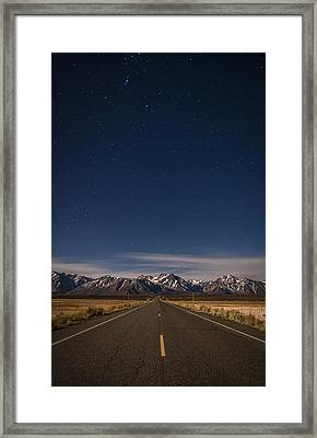 Benton Crossing Rd. Framed Print by Cat Connor