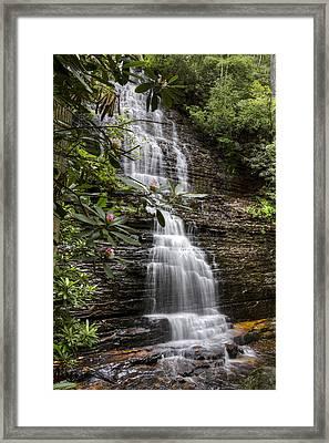 Benton Falls Framed Print