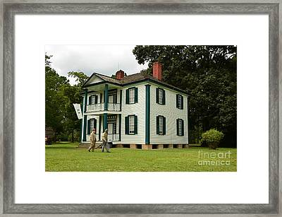 Confederate Head Quarters Framed Print